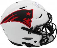 Tom Brady Signed Patriots Full-Size Authentic On-Field Lunar Eclipse Alternate SpeedFlex Helmet (Fanatics Hologram) at PristineAuction.com