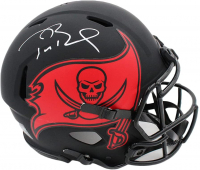 Tom Brady Signed Buccaneers Full-Size Authentic On-Field Eclipse Alternate Speed Helmet (Fanatics Hologram) at PristineAuction.com