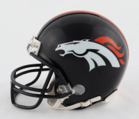 Jerry Jeudy Signed Broncos Mini Helmet (JSA COA) (See Description) at PristineAuction.com