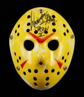 "Warrington Gillette Signed ""Friday the 13th"" Mask Inscribed ""Jason II"" (Legends COA) (See Description) at PristineAuction.com"