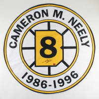 Cam Neely Signed Bruins Replica Retirement Banner (YSMS COA) at PristineAuction.com