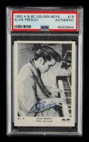 Elvis Presley 1960 A & BC Golden Boys #18 (PSA Authentic) at PristineAuction.com