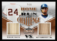 Willie Mays / Ken Griffey Jr. 2020 Leaf Lumber Kings Home Run Challenge #HRC08 #07/15 at PristineAuction.com