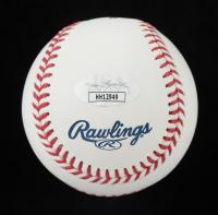 Larry Walker Signed OML Hall of Fame Logo Baseball (JSA COA) at PristineAuction.com