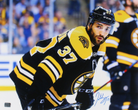 Patrice Bergeron Signed Bruins 16x20 Photo (YSMS Hologram) at PristineAuction.com