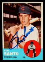 Ron Santo Signed 1963 Topps #252 (JSA Hologram) at PristineAuction.com