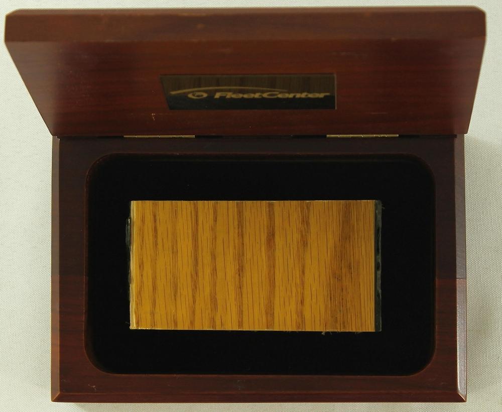 Boston Garden 4x2 Parquet Floor Piece In Wooden Display Box