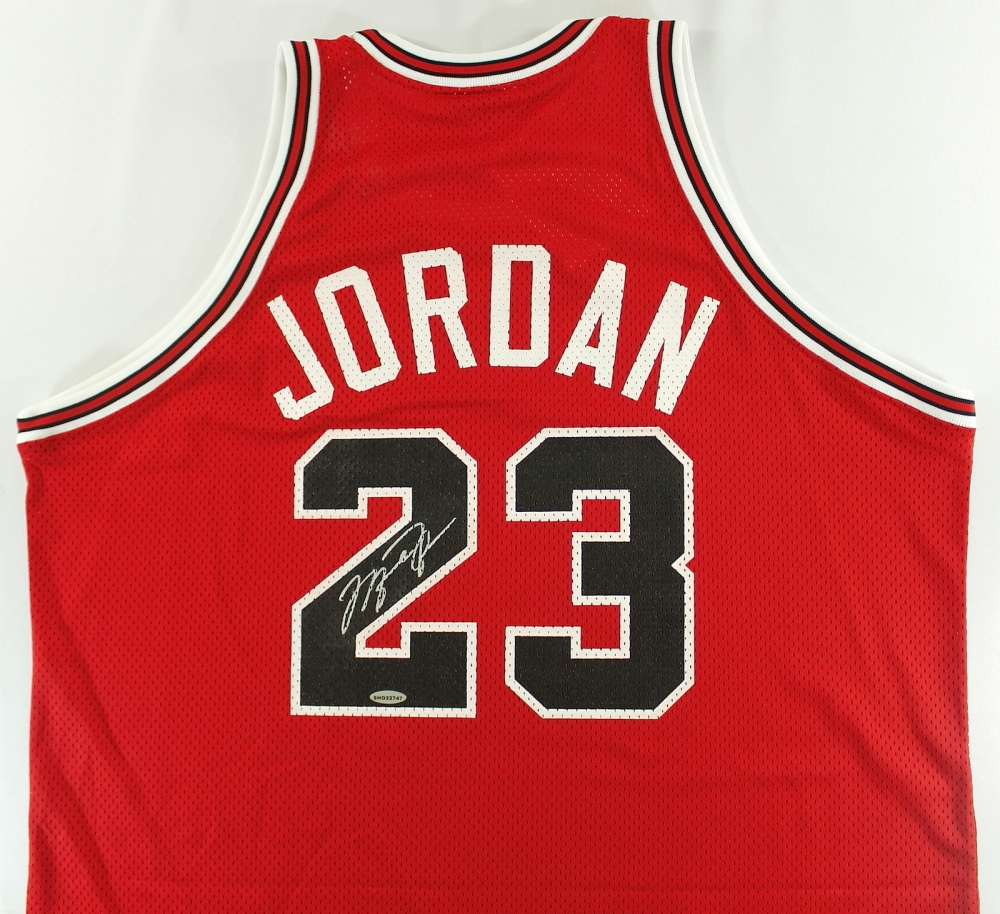 ad09ca9b4746d5 Michael Jordan Signed Bulls Authentic Mitchell   Ness 1988-89 Jersey (UDA  COA)