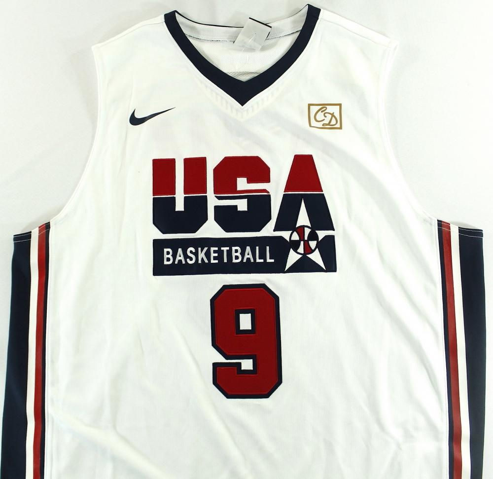 michael jordan team usa jersey