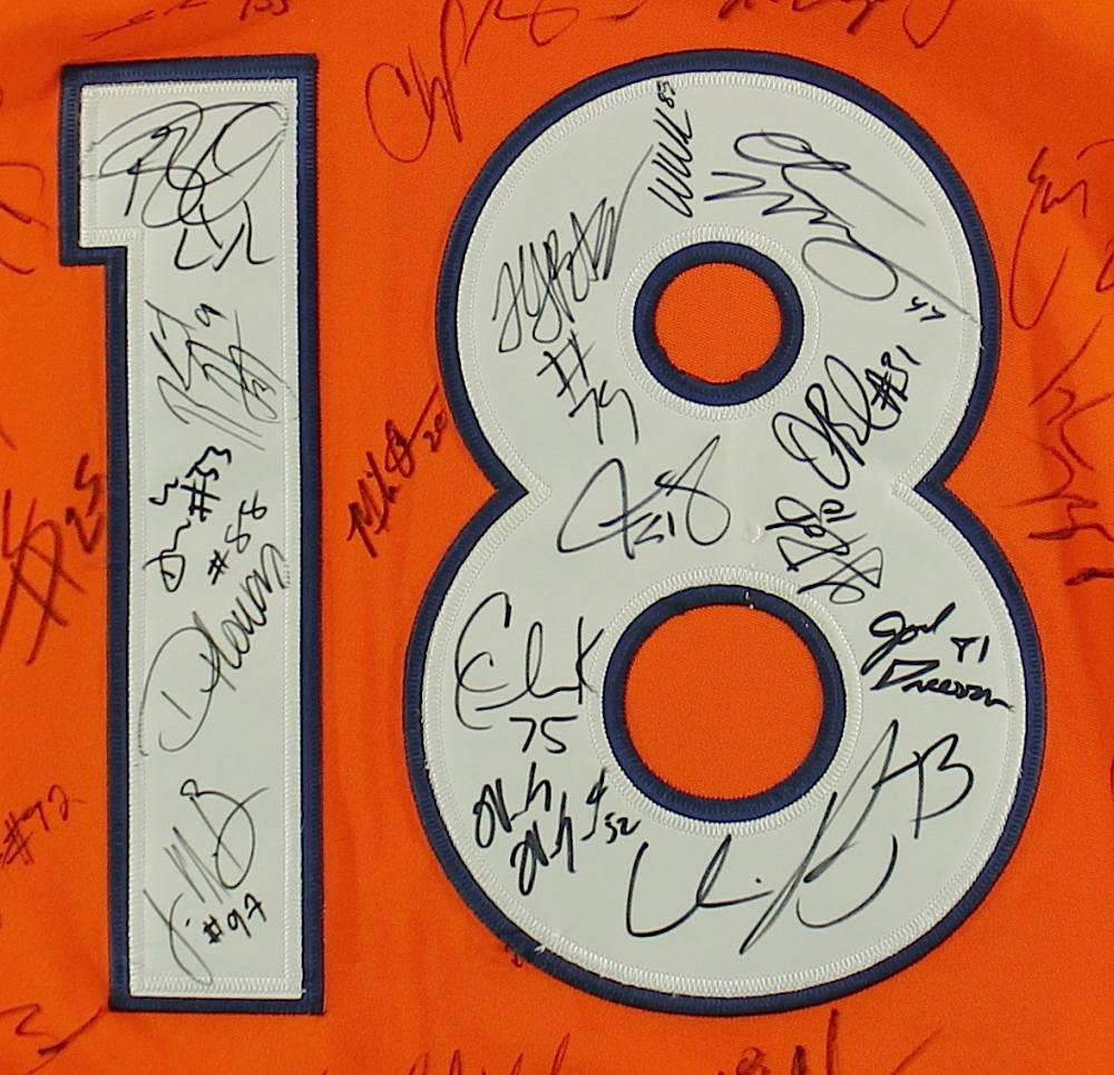 demaryius thomas autographed jersey