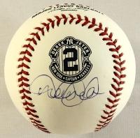 Derek Jeter Signed Yankees Final Season Logo Commemorative OML Baseball (Steiner COA) at PristineAuction.com