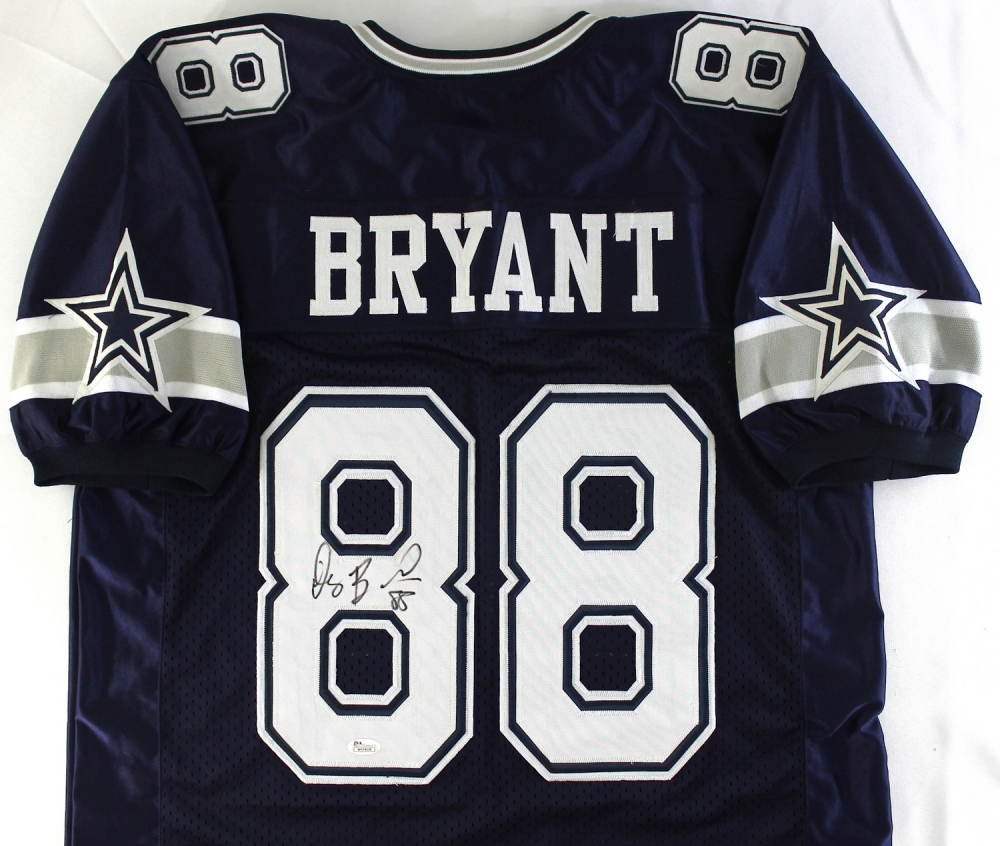 outlet store 9cdee d239b dez bryant autographed jersey