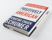 """Chuck Schumer Signed """"Positively American"""" Hardcover Book (JSA COA) at PristineAuction.com"""