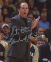 """Mike Brey Signed Notre Dame Fighting Irish 8x10 Photo Inscribed """"Coach of the Year"""" (Steiner COA) at PristineAuction.com"""