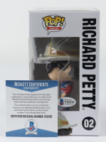 Richard Petty Signed NASCAR #02 Funko Pop! Vinyl Figure (Beckett COA) at PristineAuction.com