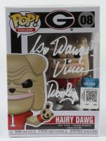 "Vince Dooley Signed Georgia Bulldogs #08 Hairy Dawg Funko Pop! Vinyl Figure Inscribed ""Go Dawgs!"" (JSA COA) at PristineAuction.com"