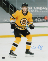 Trent Frederic Signed Bruins 16x20 Photo (YSMS COA) at PristineAuction.com