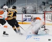 "Jack Studnicka Signed Bruins 16x20 Photo Inscribed ""1st NHL Goal 1-21-21"" (YSMS COA) at PristineAuction.com"