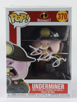 "John Ratzenberger Signed ""Incredibles 2"" #370 Underminer Funko Pop! Vinyl Figure (Beckett COA) (See Description) at PristineAuction.com"