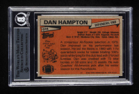 """Dan Hampton Signed 1981 Topps #316 RC Inscribed """"HOF 2002"""" (BGS Encapsulated) at PristineAuction.com"""