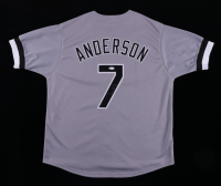 Tim Anderson Signed Jersey (JSA Hologram) (See Description) at PristineAuction.com