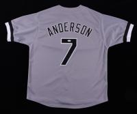 Tim Anderson Signed Jersey (JSA COA) (See Description) at PristineAuction.com