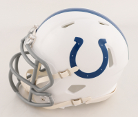 Nyheim Hines Signed Colts Speed Mini Helmet (JSA COA) at PristineAuction.com