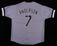 Tim Anderson Signed Jersey (JSA COA) at PristineAuction.com