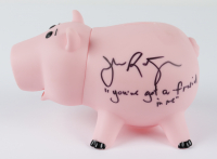 """John Ratzenberger Signed """"Toy Story"""" Hamm Piggy Bank Inscribed """"You've Got A Friend In Me"""" (Beckett COA) (See Description) at PristineAuction.com"""