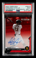 Fernando Tatis Jr. 2020 Topps Now Postseason Autographs Red #PS61D #06/10 (PSA 9) at PristineAuction.com