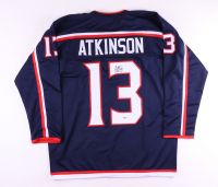 Cam Atkinson Signed Jersey (Beckett COA) at PristineAuction.com