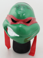 """Kevin Eastman Signed """"Teenage Mutant Ninja Turtles"""" Raphael Mask With Hand-Drawn Sketch (Beckett COA) at PristineAuction.com"""