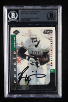Ricky Williams Signed 1999 Collector's Edge Supreme Draft Previews #RW (BGS Encapsulated) at PristineAuction.com