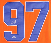 Connor McDavid Signed Oilers Jersey (Beckett COA) at PristineAuction.com
