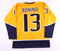 Nick Bonino Signed Jersey (Beckett COA) at PristineAuction.com
