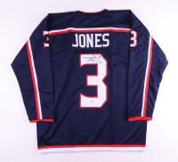 Seth Jones Signed Jersey (Beckett COA) at PristineAuction.com