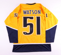 Austin Watson Signed Jersey (Beckett COA) at PristineAuction.com