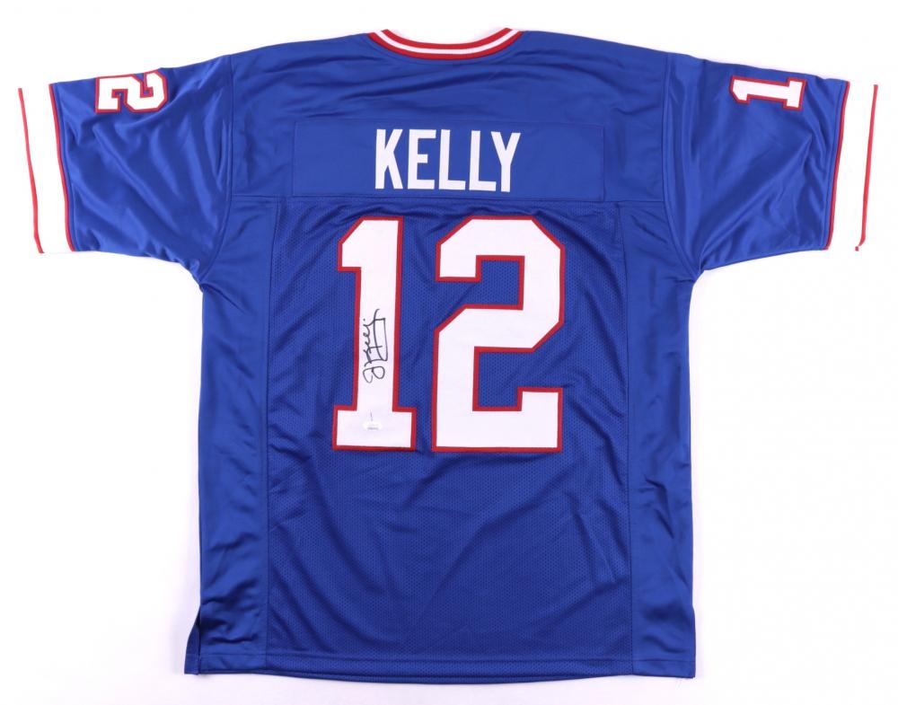 Jim Kelly Signed Jersey (JSA COA) | Pristine Auction