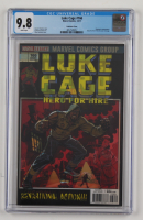 """2017 """"Luke Cage"""" Issue #166 Marvel Comic Book (CGC 9.8) at PristineAuction.com"""