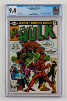 """Vintage 1981 """"Incredible Hulk"""" Issue #258 Marvel Comic Book (CGC 9.4) at PristineAuction.com"""