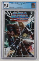 """2020 """"He-Man and the Masters of the Multiverse"""" Issue #1 D.C. Comic Book (CGC 9.8) at PristineAuction.com"""