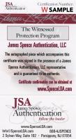 O. J. Simpson Signed 35x43 Custom Framed Jersey Display (JSA COA) at PristineAuction.com
