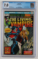 """Vintage 1974 """"Fear"""" Issue #20 Marvel Comic Book (CGC 7.0) at PristineAuction.com"""