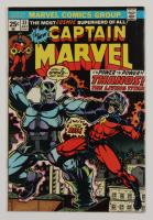 "Vintage 1974 ""Captain Marvel"" Vol. 1 Issue #33 Marvel Comic Book at PristineAuction.com"
