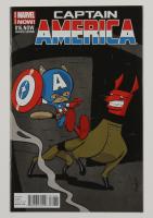"2014 ""Captain America"" Issue #16 Marvel Comic Book at PristineAuction.com"