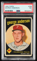George Anderson 1959 Topps #338 RC (PSA 7) at PristineAuction.com