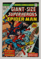 """Vintage 1974 """"Giant-Size Super-Heroes Featuring Spider-Man"""" Vol. 1 Issue #1 Marvel Comic Book at PristineAuction.com"""