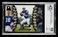 Peyton Manning 1998 Pacific Omega #101 RC (BCCG 10) at PristineAuction.com
