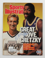 Magic Johnson Signed 1988 Sports Illustrated Magazine (Beckett COA) at PristineAuction.com