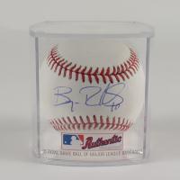 Bryan Reynolds Signed OML Baseball With Display Case (MLB Hologram) at PristineAuction.com